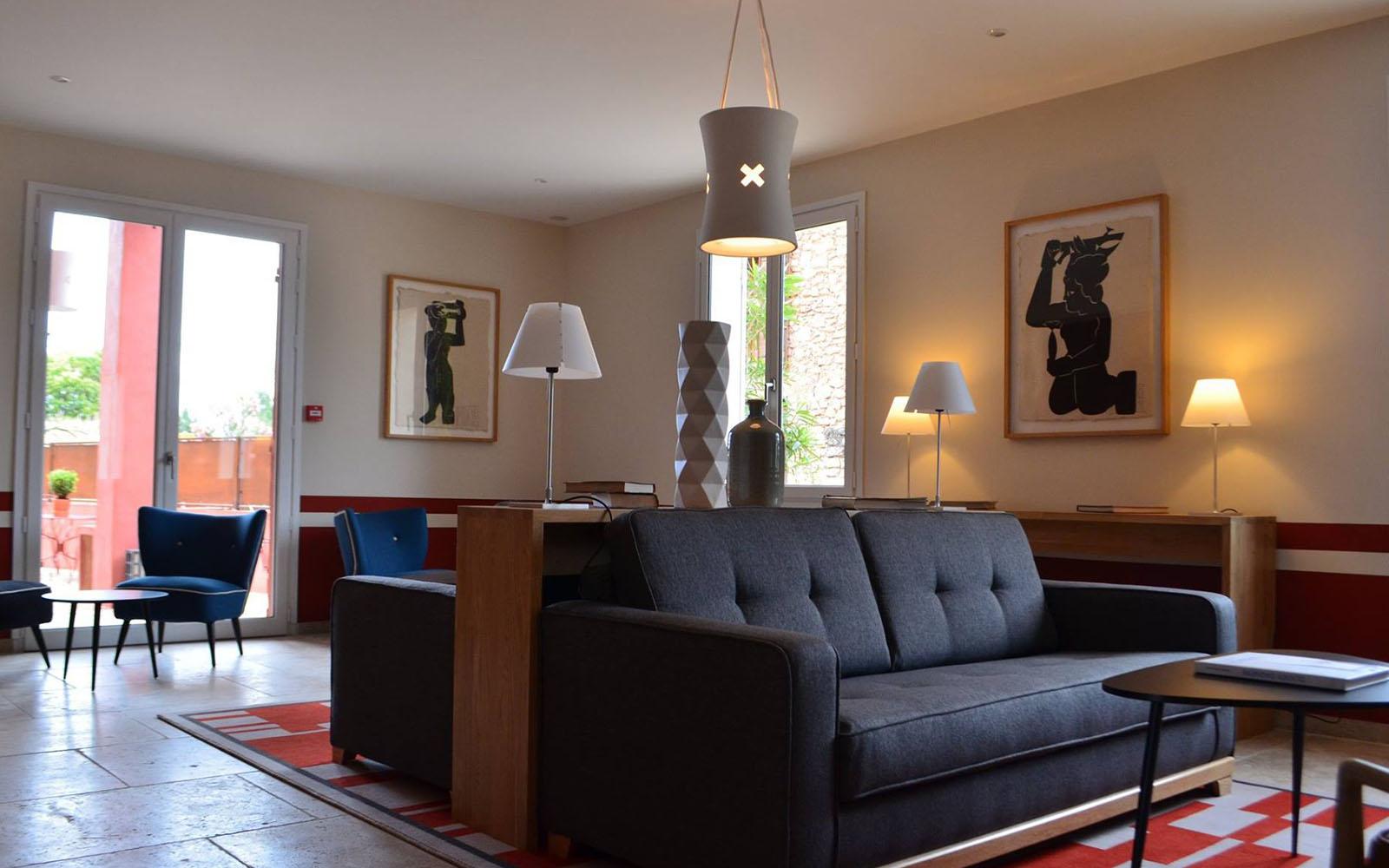 Entwurf und Dekoration - La Maison des Ocres